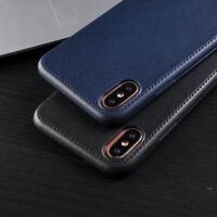 Luxury Ultra thin Leather Soft Silicone TPU Case Cover For Apple iPhone X