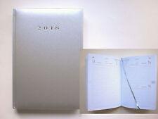 Buchkalender 2019 Cheftimer Terminplaner DIN A5 silber-metallic