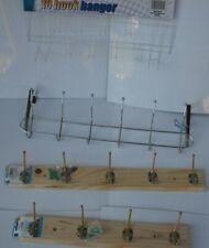 Over Door Coat Hook Hanger Rack Chrome or White Bedroom Students.3-12 Hook.PLUS