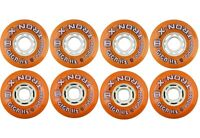TronX Giga Asphalt 76/80 HILO 84A Outdoor Inline Roller Hockey Wheels 8-pack