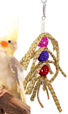 1649 Space Fingers Bird Toy Cage Cages Foraging Chew Shredder Conure Parakeet