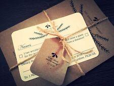 50 DIY Christmas Rustic Vintage Shabby Chic Wedding Invitation Bundles!