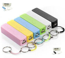 Compra 2 Power Bank 2600mah móviles cargador de batería con USB recibo 3