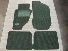 $$$ Rips Fußmatten für Mercedes Benz W124 4-matic E-Klasse + pinie grün + NEU $$