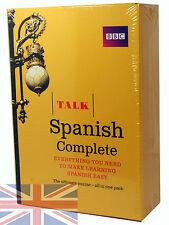 BBC Learn Talk Spanish Complete - 4 CD-Audio, 2 Course Books Plus Grammar Guide