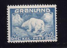 Greenland Scott # 8 Vf Og mint never hinged scott cv $ 50 ! see pic !