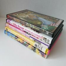 Childrens DVD Lot of 6 Assorted Rapunzel Silly Songs Barbie Strawberry Shortcake