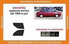 pellicola oscurante vetri dahiatsu applause berlina dal 1998 kit anteriore