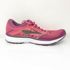 Brooks Womens Revel 1202491B637 Diva Pink Red Running Shoes Lace Up Size 12 B