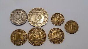 Münzen Aus Kamerun Cameroun 1951-1966