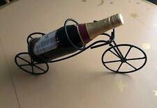Wine Bottle Holder Caddy Bicycle/Tricycle Metal Wire Holds Single Bottle