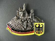 Magnet Metall Schloss Neuschwanstein Germany Souvenir Deutschland