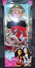 "NIB Madame Alexander What A Doll 18"" Play Doll, Blonde, Blue Eyes, 3+"