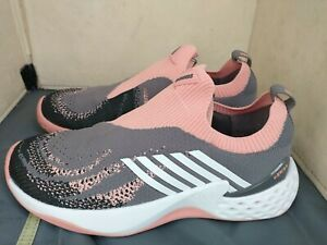 Women's K-Swiss Aero Knit Tennis Shoes  Plum Kitten/Coral Almond/size 7.5 EUC