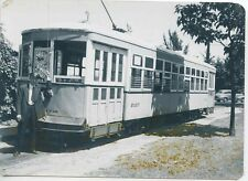M578 RP 1947 RP UNITED ELECTRIC RAILWAY TROLLEY #2107 BUTLER LINE  PROVIENCE RI