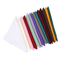 1 pc Wedding Party Hotel Tableware Home Dinner Table Polyester Cloth Napkins New