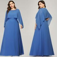 Ever-pretty Plus Size Formal Chiffon Evening Gown Cocktail Mother Of Bride Dress