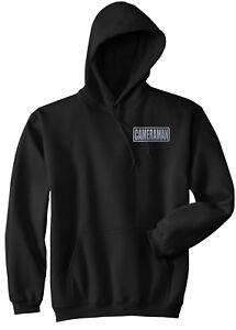 Cameraman hoodie, REFLECTIVE LOGO, Cinematographer hoodie