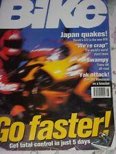Bike 08/97 Ducati ST2,BMW R1200C/ R1100RS, Honda VFR750 & Blackbird ,Ride Faster