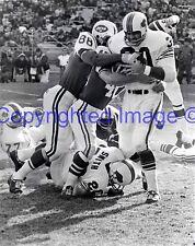 Bills #30 Wray Carlton Jets #88 Al Atkinson 12-19-1965 8X10 Photo AFL