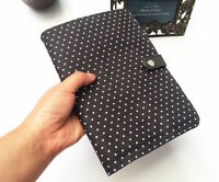 Thirty one Double Up Clutch purse bag 31 gift in CITY CHARCOAL SWISS DOT wallet