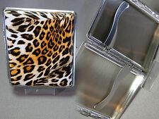 Fine Angelo Cigarette Case - Tiger Decor - 18er - Nip -140