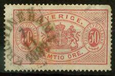 Svezia 1874 SG O39a Usato 60%