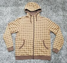 adidas r.y.v. hoodie light brown