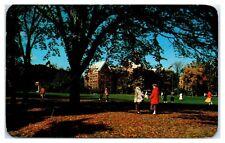 1957 Keuka College, Richardson, Ball & Hagerman Halls, Keuka Park, NY Postcard