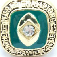 1965 Green Bay Packers Starr NFL Super Bowl 18k Gold Plated Championship Ring