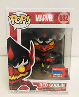 Funko Pop Marvel Red Goblin NYCC 2020 Shared Exclusive In Hand
