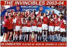 Arsenal FC 2003-04 The Invincibles Unbeaten Season