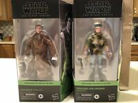 ENDOR PRINCESS LEIA & HAN SOLO - STAR WARS BLACK SERIES SET OF 2 NEW IN HAND