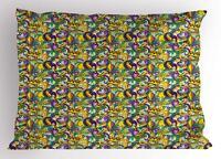 New Orleans Pillow Sham Decorative Pillowcase 3 Sizes for Bedroom Decor