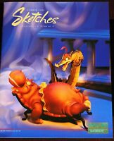 Fantasia Song of the South Disneyland Walt Disney Classics Sketches Magazine