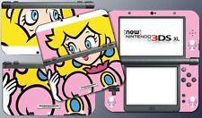 New Super Mario Bros Princess Peach Special Skin Decal Game New Nintendo 3DS XL
