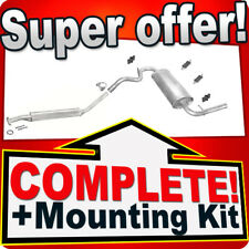 Rear Muffler//Back EXHAUST-with Mounting Kit-LADA Niva 1700//21213-21214