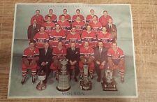 Vintage Montreal Canadiens 1960 / 1961 team photo , Jean Beliveau , Doug Harvey