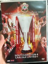 2010 Johnstone's Paint Trophy Final - Southhampton Football Club DVD (soccer)