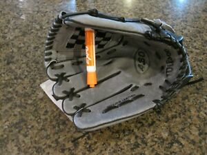 """Wilson A360 Youth Baseball 12"""" Glove Grey/Black LHT Right Hand NWT Leather"""