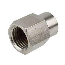 Druckluftleitung Schlauchstutzen Stecker Adapter 1/4 auf 1/8 BSP Innengewinde