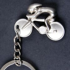 CYCLIST KEYRING bicycle cycling bike racing tour de france fan present gift idea