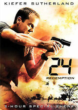 24: Redemption (DVD, 2008, 2-Disc Set) JACK BAUER KIEFER SUTHERLAND ACTION