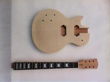 Left Handed Unfinished electric guitar body with neck Excellent handcraft 0938