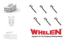 Whelen 6 Pin Mini Connector Plug with 6 Sockets for Wecan - LED Hideways etc