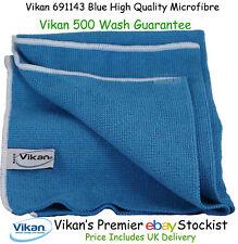 Vikan Microfibre Cloths High Quality Blue Microfiber Towels Cleaning Cloth