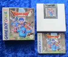 Dragon Quest Monsters, Nintendo GameBoy Color Spiel, OVP Anleitung
