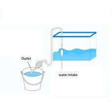 Aquarium Clean Siphon Vacuum Water Change Gravel Cleaner Fish Tank Pump Filter