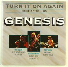 CD - Genesis - Turn It On Again - Best Of '81 - '83 - A4656