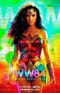 "Wonder Woman 1984 (11"" x 17"") Movie Collector's Poster Print  (T10) - B2G1F"